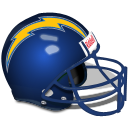 Las Angeles Chargers Helmet