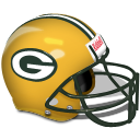 Green Bay Packers Rams Helmet