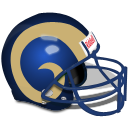 Los Angeles Rams Helmet