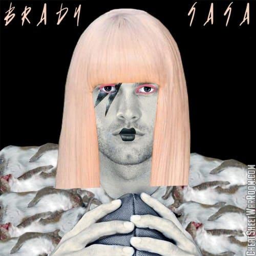 Tom Brady Fantasy Football Name - Brady Gaga