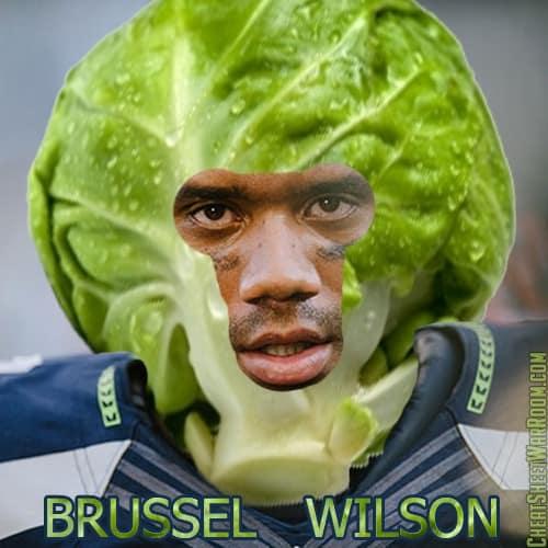 Seahawks Fantasy Team Name - Brussel Wilson