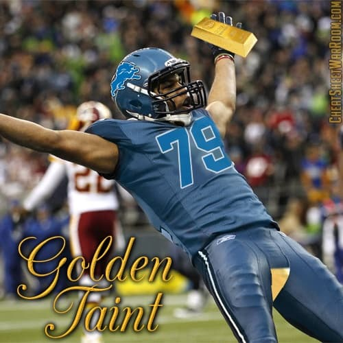 Vulgar Fantasy Team Name - Golden Taint