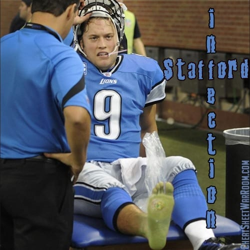 Detroit Lions Fantasy Name - Stafford Infection
