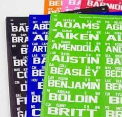 Fantasy Draft Player Labels