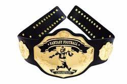 Fantasy Football Championship Belt by Undisputed Belts