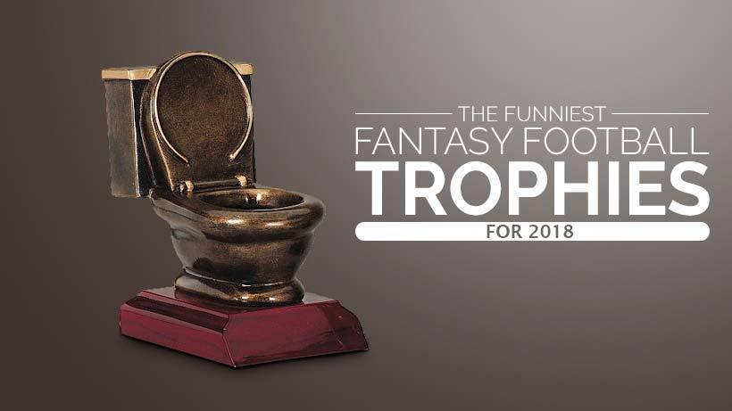 Funny Fantasy Football Loser Trophies