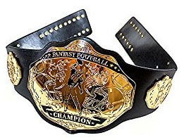 Fantasy Football Championship Belt from Undisputed Belts