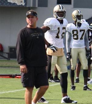 Coach Sean Payton