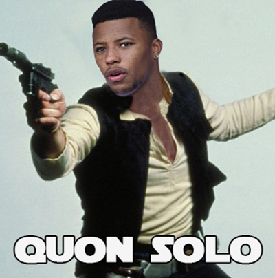 Saquon Barkley Team Name - Quon Solo