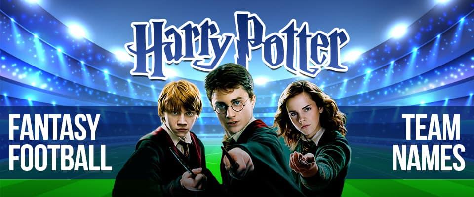 Harry Potter Fantasy Football Team Names