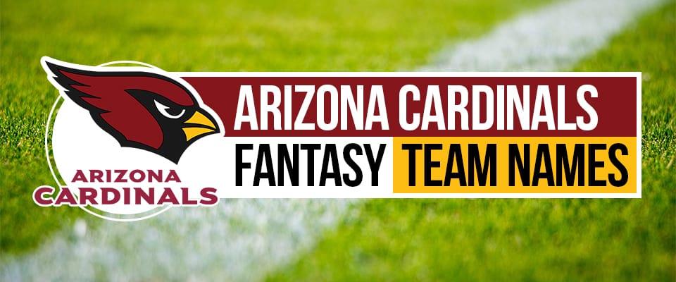 Arizona Cardinals Fantasy Football Names