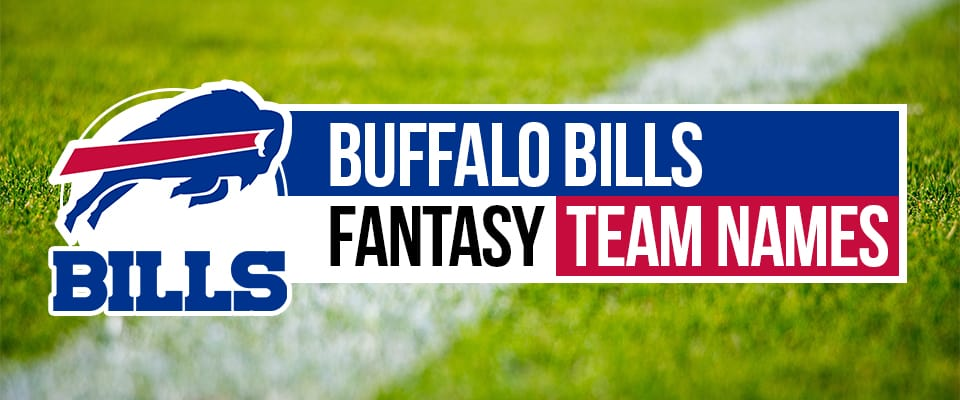 Buffalo Bills Fantasy Football Names