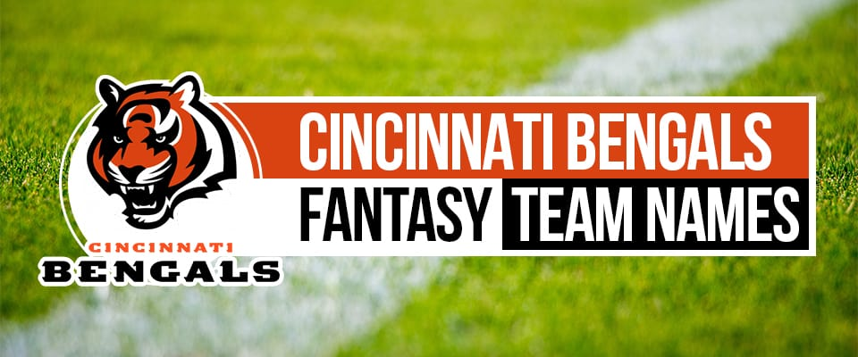 Cincinnati Bengals Fantasy Team Names