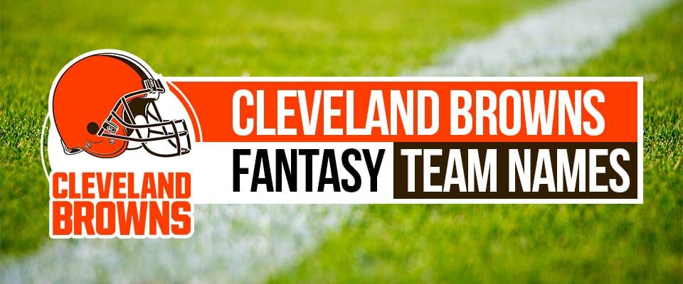 Browns Fantasy Football Names