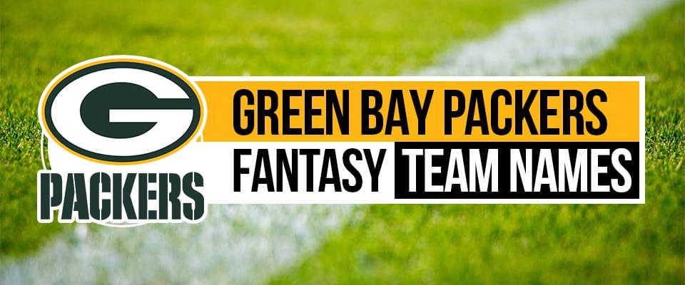 Packers Fantasy Football Names