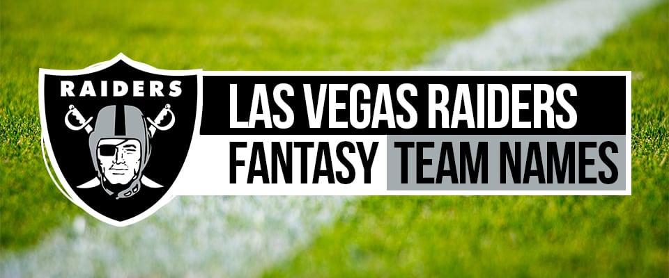 Raiders Fantasy Football Names