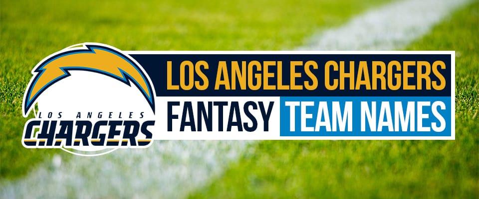 Chargers Fantasy Football Names