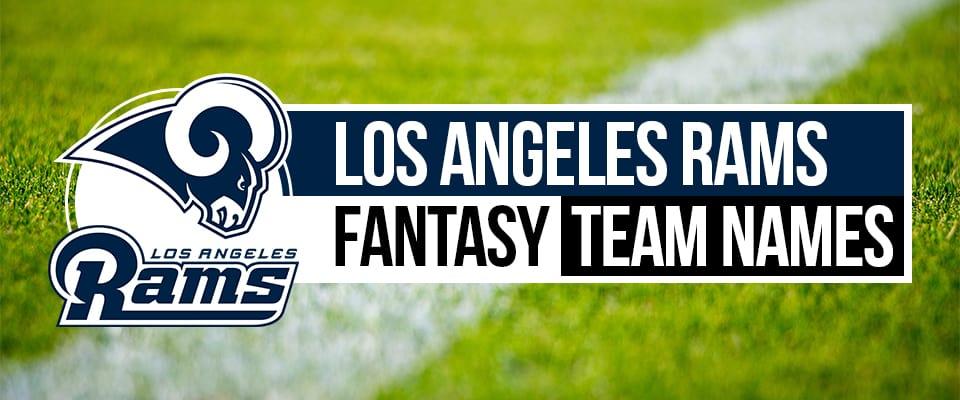 Rams Fantasy Football Names