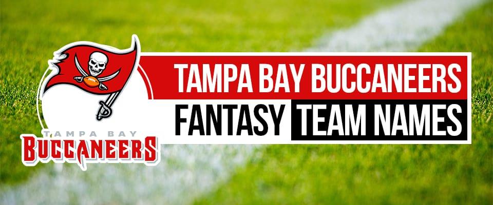 Tampa Bay Buccaneer Fantasy Football Names