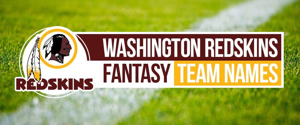Washington Football Team Fantasy Names