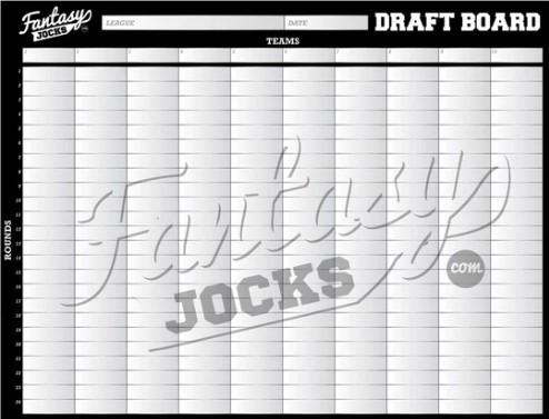 Best Standard Board - Fantasy Jocks Manager Draft Package