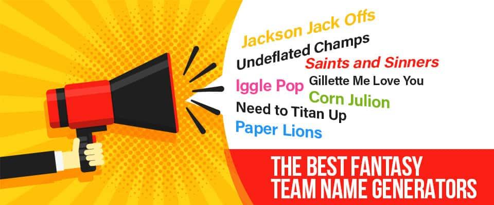 Fantasy Football Team Name Generator