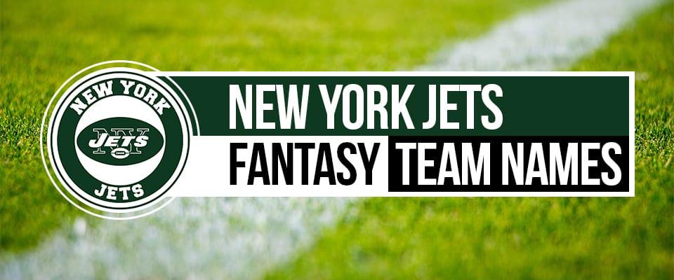 New York Jets Fantasy Football Names