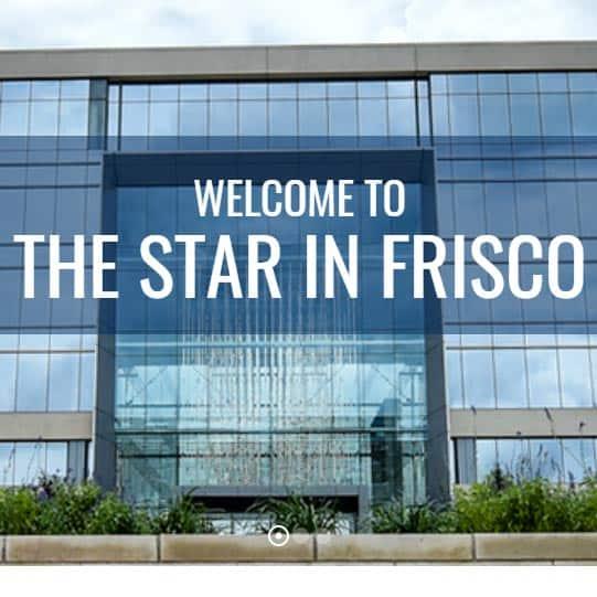 Dallas Cowboys Gift - Star in Frisco