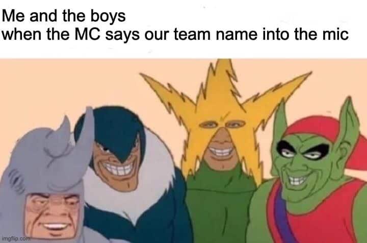 Team Name Ideas for Guys