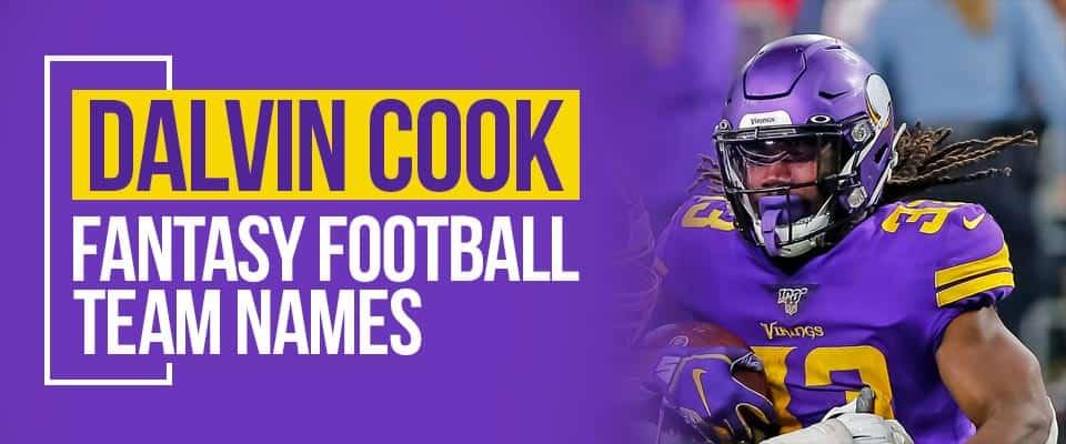 Dalvin Cook Fantasy Football Names