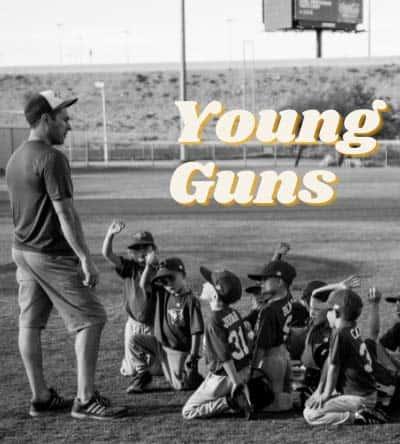 Softball Team Name - Young Guns